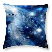 Just Beyond The Moon Throw Pillow