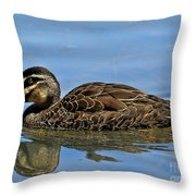 Just Chinning Throw Pillow