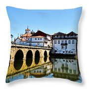 Just Driving By Throw Pillow