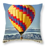 Just Dropped In Throw Pillow