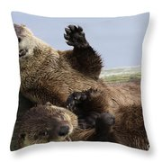 Just For Laughs Throw Pillow