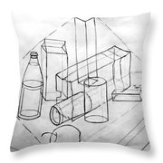 Just For Practice Throw Pillow