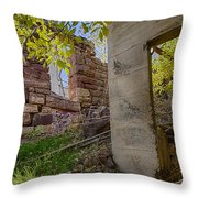 Just Left There Jerome Throw Pillow