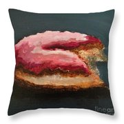 Just One Bite Throw Pillow