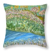 Just One Look Throw Pillow