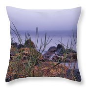 Just Over The Rocks Throw Pillow