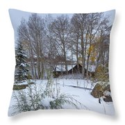 Just Perfect Throw Pillow