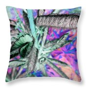 Just Popping Out Throw Pillow