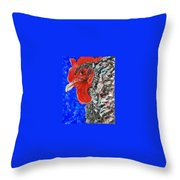 Just Released Jailbird Throw Pillow