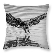Just The Right Moment Throw Pillow