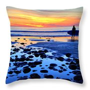 Just The Right Moment Throw Pillow by Julianne Bradford