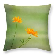 Just Two Throw Pillow