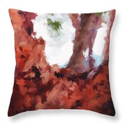 Just Your Average Tree Throw Pillow