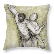 Justice, 1998 Throw Pillow