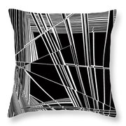 Justice Throw Pillow