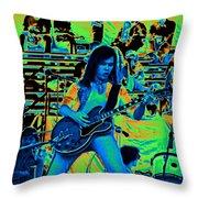 Jwinter #22 In Cosmicolors Throw Pillow
