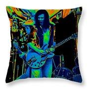 Jwinter #8 In Cosmicolors Throw Pillow