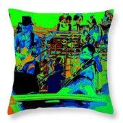 Jwinter #9 Enhanced Colors 1 Throw Pillow