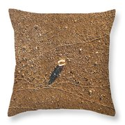 J'y Habite / You Can't Really Miss It Throw Pillow