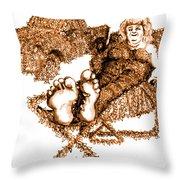 K Is For Kudzu Throw Pillow