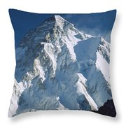 K2 At Dawn Pakistan Throw Pillow