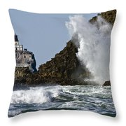 Kaboom Throw Pillow