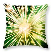 Kaboom Throw Pillow by Suzanne Luft
