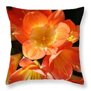 Kaffir Lily Throw Pillow