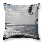 Kailua Beach Throw Pillow