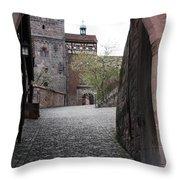 Kaiserburg - Nuremberg Throw Pillow