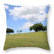 Kakaako Park Throw Pillow