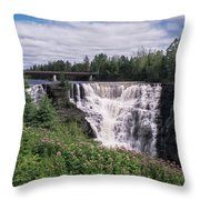 Kakabeka Falls Throw Pillow
