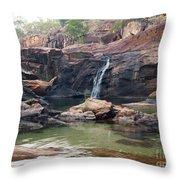 Kakadu Waterfall Throw Pillow
