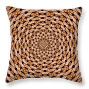 Kaleidoscope 1 Throw Pillow