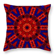 Kaleidoscope 36 Throw Pillow