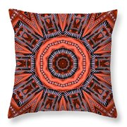 Kaleidoscope 40 Throw Pillow