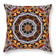 Kaleidoscope 41 Throw Pillow