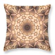 Kaleidoscope 44 Throw Pillow