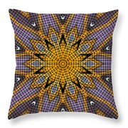 Kaleidoscope 5 Throw Pillow