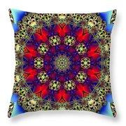 Kaleidoscope 51 Throw Pillow