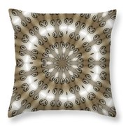 Kaleidoscope 54 Throw Pillow