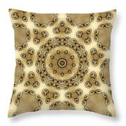Kaleidoscope 55 Throw Pillow