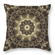 Kaleidoscope 66 Throw Pillow