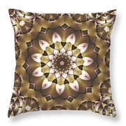 Kaleidoscope 68 Throw Pillow