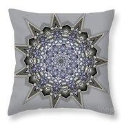 Kaleidoscope 69 Throw Pillow