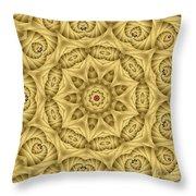 Kaleidoscope 76 Throw Pillow