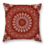Kaleidoscope 8 Throw Pillow