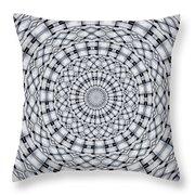Kaleidoscope 9 Throw Pillow