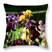 Kaleidoscope Floral Throw Pillow