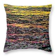 Kaleidoscope Ocean Throw Pillow